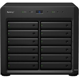 Carcasa de unidad Synology DX1215 - Externo - 12 x HDD Supported - 12 x SSD S...