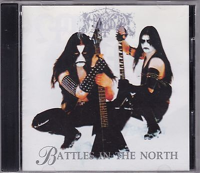 Immortal ‎– Battles In The North ULTRA RARE COLLECTOR'S CD! FREE SHIPPING!