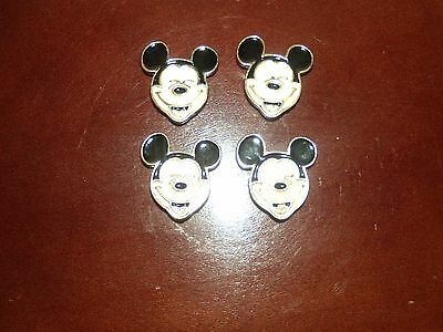 Mickey Mouse Button Covers  Set of 4