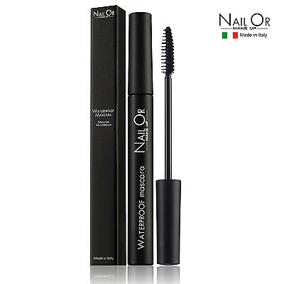 MASCARA WATERPROOF 6 ml NERO Resistente all'acqua LongLasting Lunga Tenuta