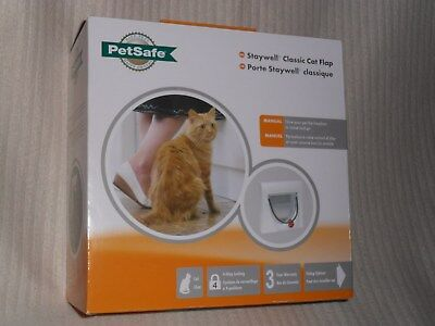 PetSafe Staywell Classic 4-Way Locking Cat Flap with Tunnel NEW