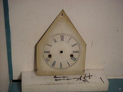 30 Hour Ansonia Steeple Dial and Hands