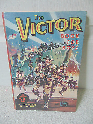 The Victor Book for Boys - Annual No.1 - 1964  first one