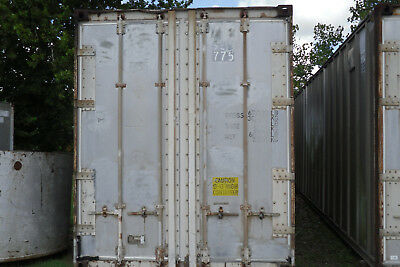 40ft  Aluminum High Cube shipping container storage container