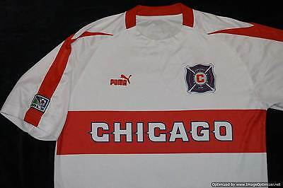 Chicago Fire PUMA 2003-2004 PUMA Football Shirt XLARGE XL