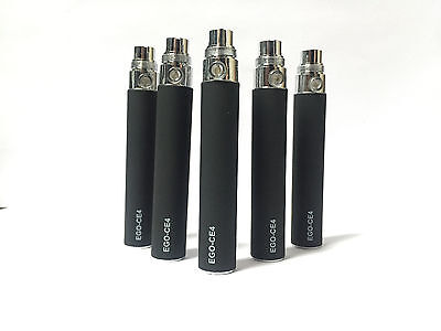 5X Ce4 Batteries Ego-T Electronic Vape Strong 650 Mah Battery Charger Brand New