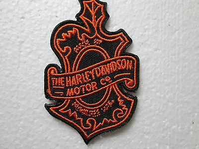 Harley Davidson Motor Co. Crest Oak Leaf Patch *small Patch* Retired