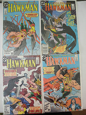 "Hawkman #1-17 Complete ""New Adventures"" Run (DC Comics 1986 87) + Special"