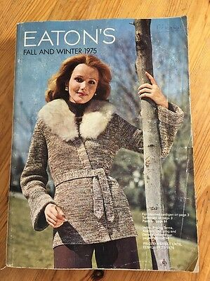 Eatons Fall and Winter 1975 Catalog