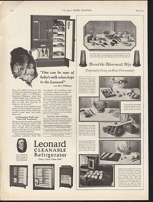1925 Leonard Refrigerator Appliance Grand Rapid Kitchen-15441