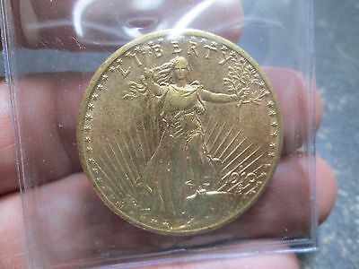 1910 S 20 DOLLAR SAINT GAUDEN GOLD COIN IN uncirculated CONDITION