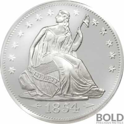 Silver - 1 oz Seated Liberty Round