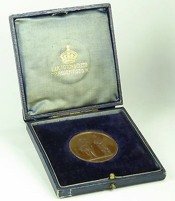 Great Britain Astor County Shooting Archery Award Medal Dated 1860 39 mm Bronze