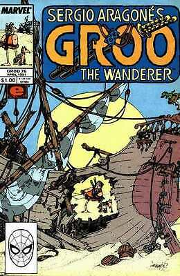 Groo the Wanderer (1985 series) #76 in Near Mint condition. FREE bag/board