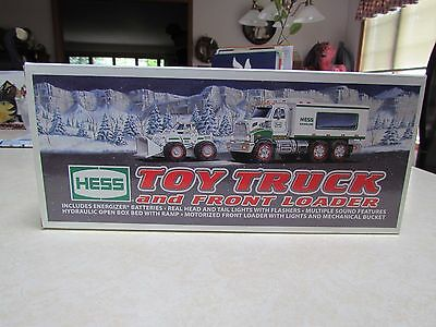 2008 Hess Toy Truck and Front End Loader ~ Mint in the Box in a Mint Box!