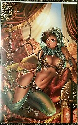 SHAHRAZAD #0 F Virgin J Scott Campbell C2E2 cover, NM.