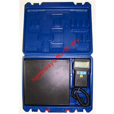 CBI RCS7040 Electronic Refrigeration Charging Scale Weight capacity: 220 lbs