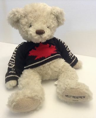 Holt Renfrew Dsquared Bear Plush 2008 Canada Annual Limited Edition