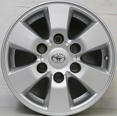 15 inch GENUINE TOYOTA HILUX 2010 4WD SR5 ALLOY WHEELS Also fits Hiace vans