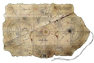 Goonies One-Eyed Willy's TREASURE MAP Prop Replica by Magnoli Props