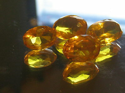 Citrine, Natural yellow gemstones, large oval cut Citrine gemstones, 1 only