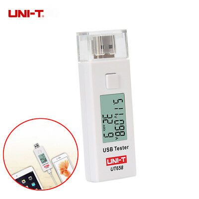 Digital USB Power Tester LCD Display Charger Current Voltage Capacity Detector