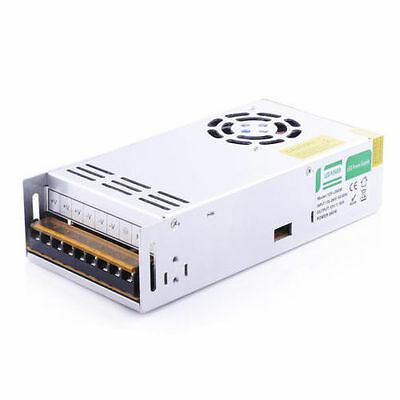 UK Stock DC 400W 24V 16A Regulated Switching Power Supply for LED Strip/CCTV