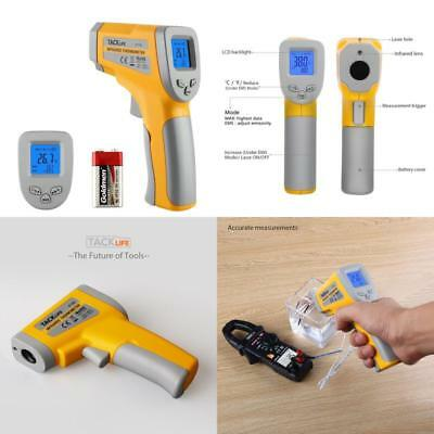 New Non Contact Laser IR Infrared Digital Temperature Thermometer With Data Hold