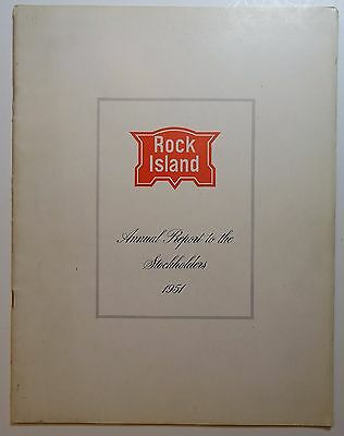 Rock Island Railroad 1951 Annual Report