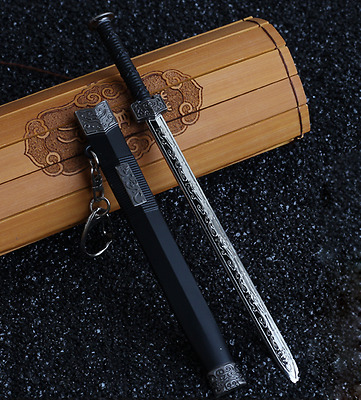 """1//6 Scale Model Ancient Chinese Weapon Accessories Alloy /""""Shaolin/"""" Meteor Hammer"""