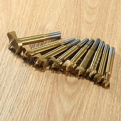 10mm-35mm HSS Forstner Hinge Hole Boring Cutter Wood Drill Bits Woodworking Tool