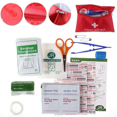 38 Piece First Aid Emergency Kit Car Home Medical Camping Office Travel Sales