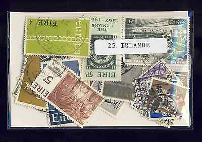 Irlande - Eire 25 timbres différents