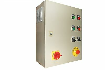 4 kW Single/Three Phase VFD, Variable Frequency Drives control panel