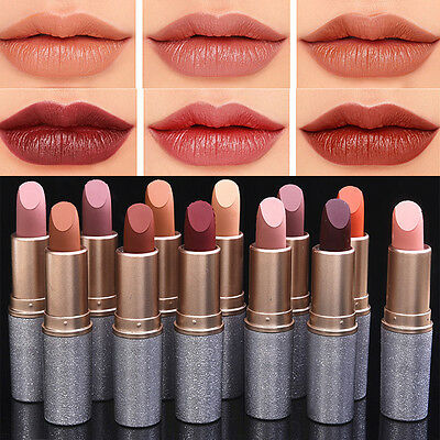 12 Color Long Lasting Waterproof Matte Liquid Lipstick Cosmetic Sexy Lip Gloss