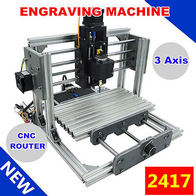 3 Axis DIY Mini CNC Mill Router USB Desktop Metal Engraver PCB Milling Machine