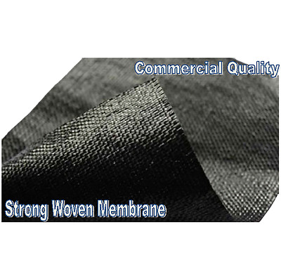 2 x 2m - Weed Control Fabric - Strong Woven Membrane Stops Weeds & Pests ( 4m2 )