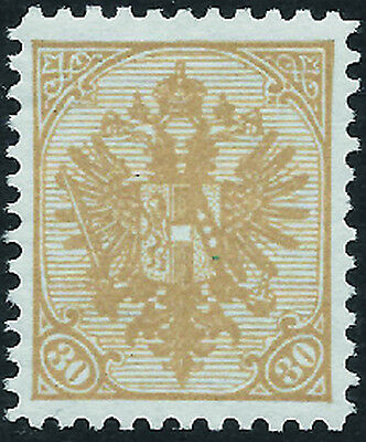 BOSNIA & HERZ. 1900 Arms 30h yellow-brown hinged mint key - 99160