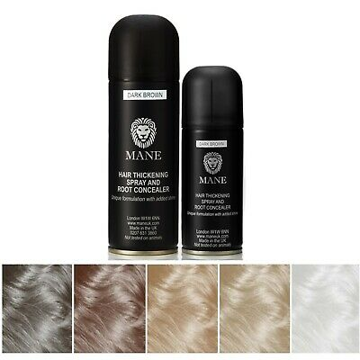 **Discount** Mane Hair Thickening Spray - 100 ml and 200 ml - Twin pack