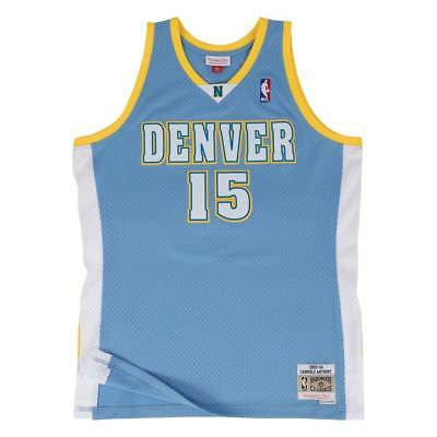 Mitchell & Ness Carmelo Anthony #15 Denver Nuggets 2003-04 Swingman NBA Trikot