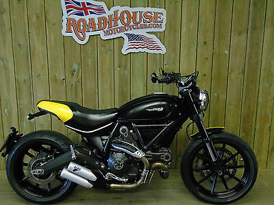 Ducati Scrambler 2015 Full Thortle,Termi's, Mint Bike,FSH