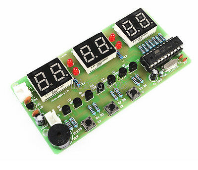 C51 6 Bits Digital Electronic Clock Electronic Production Suite DIY Kits