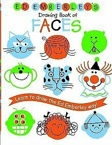 Ed Emberley's Drawing Book of Faces (REPACKAGED) (Ed Emberley Drawing Bo .. NEW