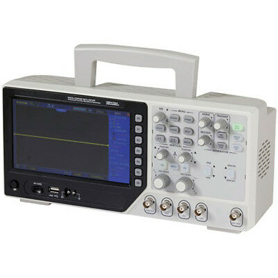 Digitech 100MHz 7inch 64K TFT Dual Channel Bench Top Oscilloscope (DSO4102C)