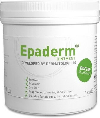 Epaderm Ointment for Dry Skin, Eczema & Psoriasis 1Kg Tub