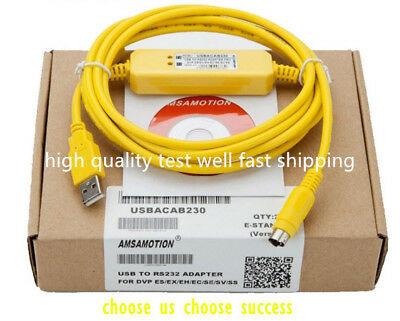 High quality PLC programming cable USBACAB230 for DVP series for Delta DVP EH /