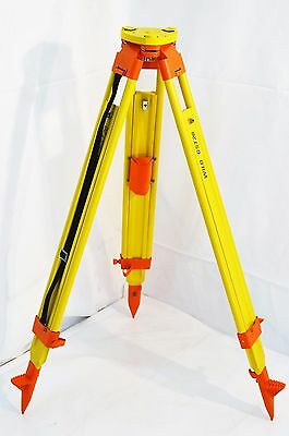 UNUSED Leica GST20 Surveying Wooden Tripod - Surveying Equipment