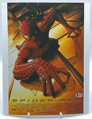 Tobey Maguire Signed SPIDERMAN Large 14x11 Photo AFTAL OnlineCOA
