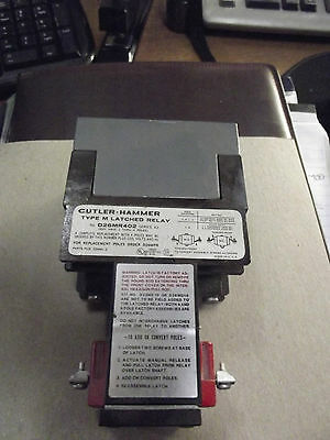 Cutler Hammer Type M Latched Relay  D26MR402