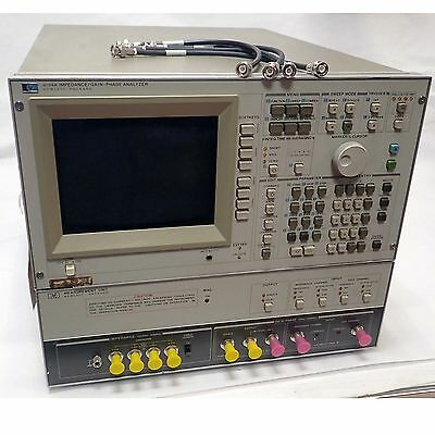 Agilent / Hp 4194A-350 Impedance/gain-Phase Analyzer Limited Testing Performed.